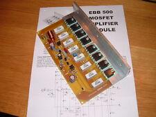 EBB 500 Modulo Amplificatore Mosfet 500W RMS Audio Disco PA Potenza