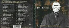 "Tom RUSSELL ""The man from God knows where"" CD Digipack"