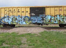 Railroad Graffiti Calendar 2014