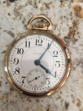 RARE! Waltham Vanguard 21 Jewel  Beautiful Dial & Hands  10k Rolled Gold Plate
