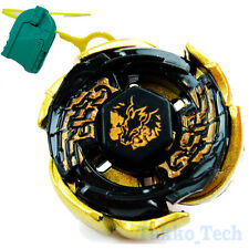 GOLD Galaxy Pegasus Pegasis Beyblade Metal Black Hole Sun Version w/Launcher NEW