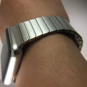 Original Apple Watch Series 7 6 SE 5 4 3 2 1 Stainless steel link bracelet band