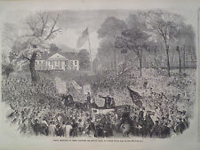 James Stephens The Fenian Chief At Jones's Wood New York 1866 Harper's Weekly