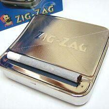 "Zig-Zag Handroll 70mm 1/4"" 6-8mm Rolling Machine Metal Roller Box"