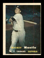 1957 Topps #95 Mickey Mantle EX+ Yankees 401484