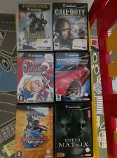Lot jeux gamecube