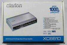 Clarion XC6610  1000W 6/5/4/3 CHANNEL CLASS D AMPLIFIER