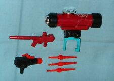 original G1 Transformers PERCEPTOR WEAPONS LOT parts scope gun launcher missiles