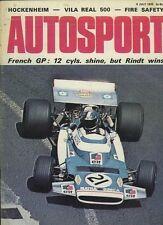AUTOSPORT 9th LUGLIO 1970 * Ford Escort RS1600 PROVA SU STRADA & FRENCH GRAND PRIX *