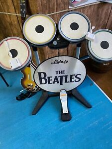 Beatles-Rockband-Mic-Drums-Bass-Guitar-Game-Dongles-for-Nintendo-Wii