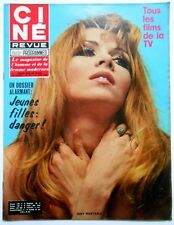 ►CINE REVUE 24/1969-MARIA CALLAS- KIM NOVAK- CURD JURGENS- DANIELLE GODET- ADAMO