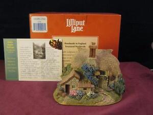 Lovely Lilliput Lane  Cider Apple Cottage  L2043  with Box  & Deeds  Collectors