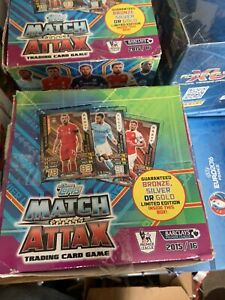 Match Attax 15/16 Full Box 50 Sealed Packets 10 cards per packet