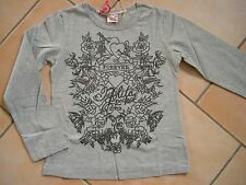 (98) NOLITA POCKET girls manica lunga top in A-forma con logo & Stampa Floreale gr.92