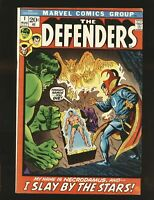 Defenders #1, FN/VF 7.0, 1st Title; Dr. Strange, Hulk, Namor