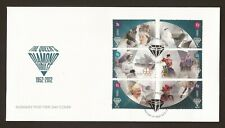 2012 Guernsey, Diamond Jubilee, First Day Cover