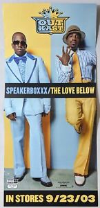 Outkast Speakerboxxx/The Love Below 2-Sided Promo Poster Banner Cardboard 12x26