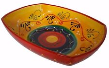 Large Rectangular Dish /  Bowl  32 cm X 24 cm Spanish Handmade Ceramic Pottery