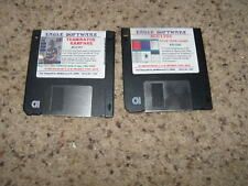 "Terminator Rampage & Star Trek Game for PC MS-DOS on 3.5"" floppy disks"