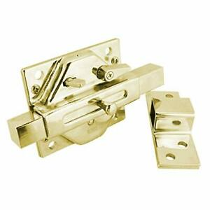 Ifam CS88 Rim Deadlock Case Only Polished Brass