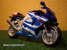 1:18 suzuki gsx-r 750 bleu perlmutweiss/00201