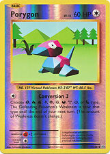 Porygon Uncommon Reverse Holo Pokemon Card XY12 Evolutions 71/108