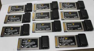 Lot of 11 Untested Sprint Mobile Broadband Card Novatel Wireless Merlin NVW- S72