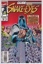 G.I. Joe #145 NM- 9.2 Snake Eyes Cobra Commander!
