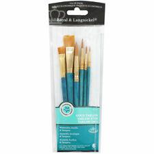 Royal & Langnickel Value Pack 10 Brush Set-#9155-Mint In Package