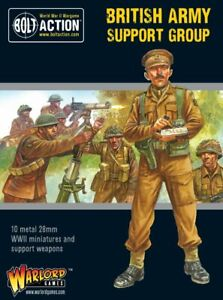 British Army Support Group, Bolt Action, Warolrd Games