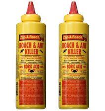 2x Zap-A-Roach 100% Boric Acid 5oz Roach & Ant Killer Insecticide Spider Fleas