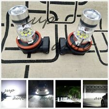 2x H11 H8 H9 H16 CREE LED Fog Light Conversion Kit Super Bright 6000K White 55W