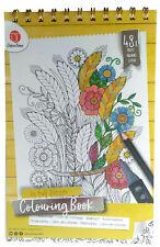 Malbuch Blumen 48 Seiten Motive ...