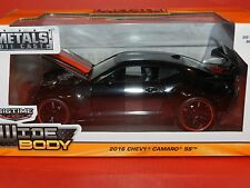 Jada 1/24 Big Time Muscle 2016 Chevy Camaro SS Black/Red Stripes MiB
