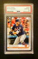 2019 Topps Series 2 #475 Pete Alonso Rookie Gem Mint PSA 10
