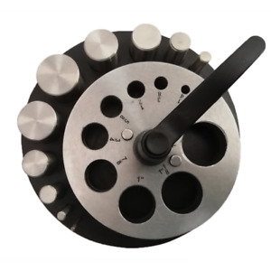 DISC CUTTER - Circle - 10 Punches - Rubber Base - for Jewelry Making