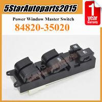 84820-35020 Power Window Master Switch For Toyota LandCruiser 70 80 Hilux Carina