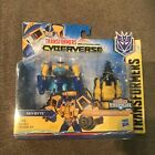 2018 Transformers Cyberverse Spark Armor Sky-Byte Driller Drive Action Figure