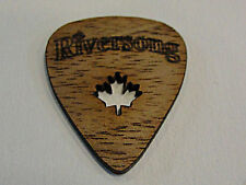 RIVERSONG WOODEN GUITAR PICKS 1.50 MM WALNUT POWER X Pick MADE IN CANADA 4 PICKS