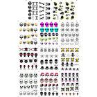 2016 1 Set of Fashion New Waterproof Skull Shape Nail Sticker Brand New