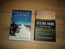 2 Blind Biographies Weihenmayer Mountain Climber & Seeing Home Broadcaster Lucas