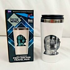 Doctor Who 50th Anniversary First Doctor Travel Mug Collectible New In Box
