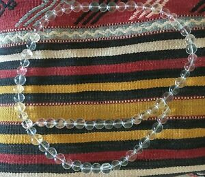 Crystal Beads Belt Necklace