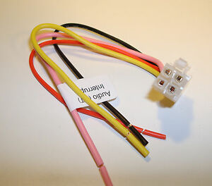 /////ALPINE KCE 250BT 300BT 350BT 400BT POWER Wire Harness