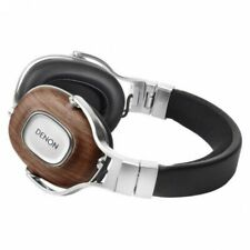 Denon AH-MM400 Music Maniac Over-Ear Headphones - Natural Walnut -OPEN BOX (1YW)