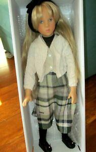"""1989 Gotz  Sylvia Natterer 21"""" Vinyl Miss Fanouche Puppefabrik Doll MIB w/Tags"""