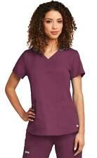 Grey's Anatomy Women's 71166 2 Pocket Scrub Top-New-Free Ship