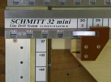 Schmitt32MINI, 32mm cabinet Hardware Line Drilling System    ROUTER NOT INCLUDED