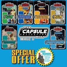 FREE MANDO OFFER! Vintage Kenner STAR WARS Name Capsule Wave V patch set of 6