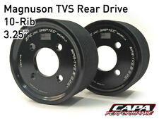 "Supercharger Pulley ZPE GripTec Magnuson TVS Rear 3.25"" Rear Pair 10-Rib"